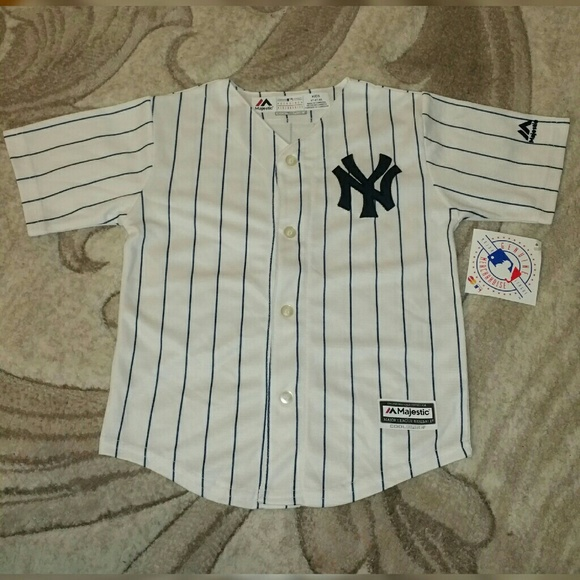 buy popular ec17b 688e9 Kids NY Yankees Baseball Jersey, 4T NWT